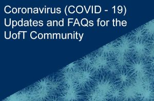 link to UofT updates on coronavirus
