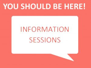 MHSc program student information sessions. This link takes you to the information session sign up page.